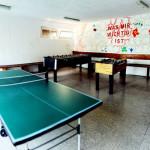 Tischtennis- und Kickerraum