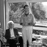 1992 Leitungswechsel in der Jugendakademie: Irene Groß, Alex Groß, Reinhard Griep