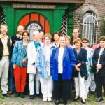 90er Jahre: Betriebsausflug zur Narrenakademie am Niederrhein