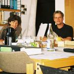2008: letzte Teamsitzung mit Norbert Jansen (3.v.l.)