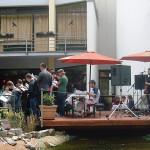 """Sommerfest 2013 Einweihung des neuen Bistros und der """"Seebühne"""" mit dem Chor4 der deutsch-bosnischen Jugendbegegnung"""