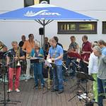 """Die Band """"Dicke Luft"""" aus Köln"""