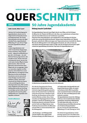 Titelblatt der Jubiläumsausgabe des Querschnitts