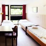 Ein Dreibettzimmer