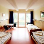Ein weiteres Dreibettzimmer