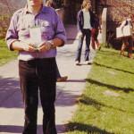 Anfang achtziger Jahre: Alex Groß mit dem Seminarprogramm