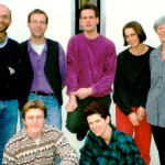 1997: Team der Jugendakademie: A. Finke, R. Griep, N. Jansen, B. Vincke, Ch. Fußhöller, unten v.l.: D. Adams (Anerkennungsjahr), V. Aebert
