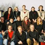 """2004 Das """"Jubiläumsteam"""" der HonorarreferentInnen der Jugendakademie"""