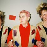 Kulturschock für europäische Freiwillige im EFT-Seminar: MitarbeiterInnen der Jugendakademie feiern 2004 Karneval