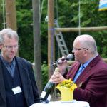 Rotary District Governor Harald-Robert Bruch im Gespräch mit Reinhard Griep