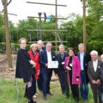 Vielen Dank an den Rotary Club Bornheim, der den Bau des Hochseilgartens in der Jugendakademie finanziert hat