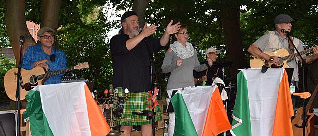 Irische Livemusik