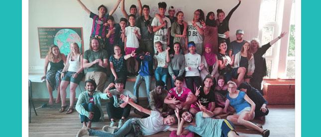 30 Jugendliche aus 8 Ländern