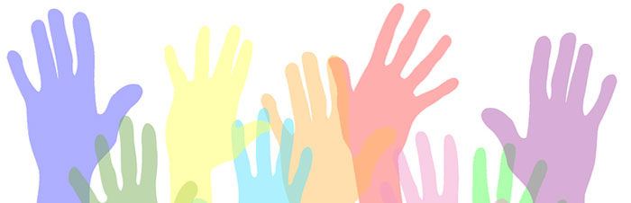 viele bunte Hände - kreatives Sommerferiencamp