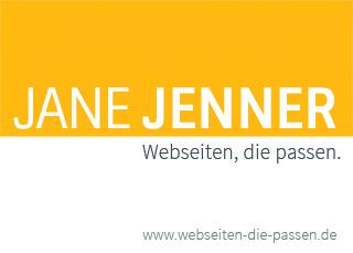 Jane Jenner - Webseiten-die passen
