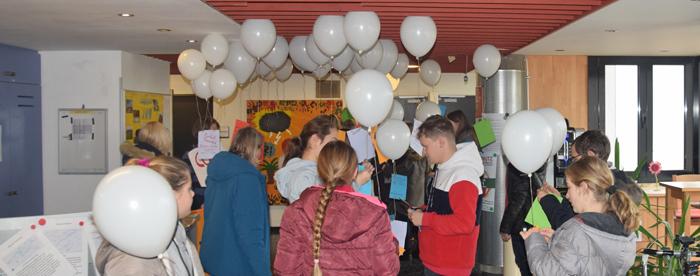 Klimastreik - Aktion an der Jugendakademie Walberberg