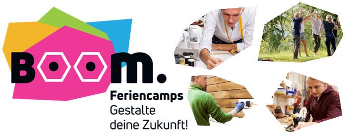 Boom Feriencamps - Gestalte Deine Zukunft